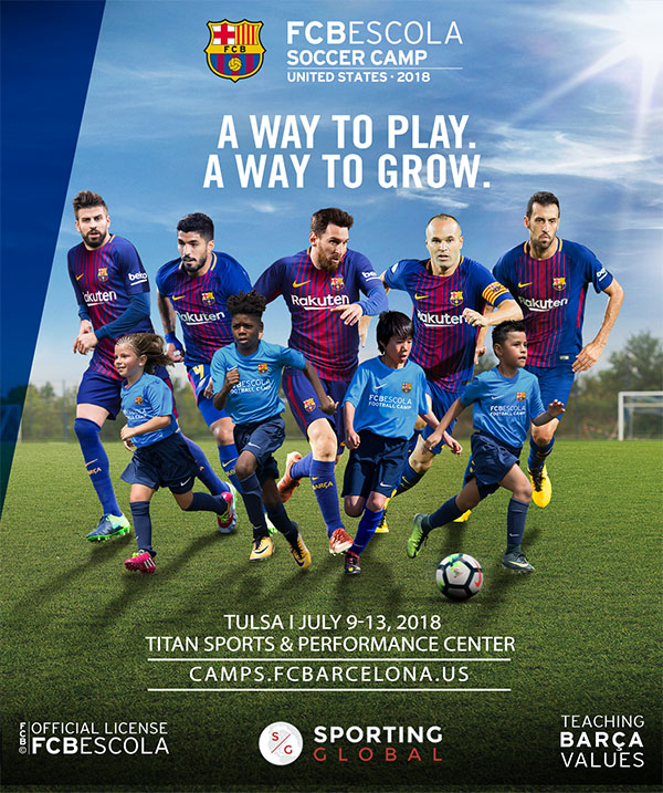16809c7ba The FC Barcelona Soccer Camp is an exclusive opportunity to learn the  methodologies of the unique Barça style. FC Barcelona Coaches will come to  Titan to ...