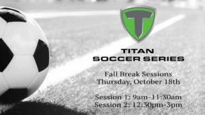 Tulsa Soccer Camp -Fall Break