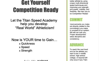 Speed Academy (ENROLL TODAY)