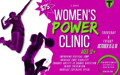 Fall Break Sports Performance Camp: Speed Camp & Women's Power Clinic